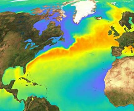 Gulf Stream current