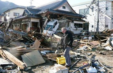 Japan tsunami wreckage